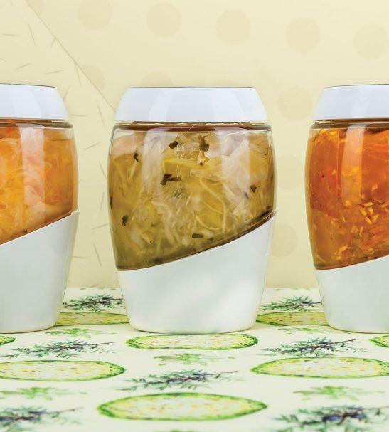 Jarre de fermentation - légumes lacto fermentés