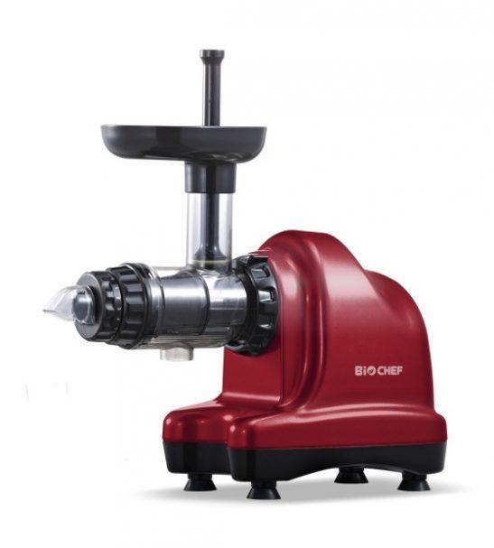 Extracteur de jus BioChef Axis Cold Press Juicer - rouge