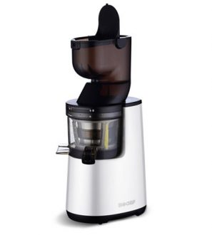 Extracteur de jus BioChef Atlas Whole Slow Juicer PRO - blanc