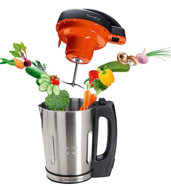 Blender chauffant DomoClip DOP121 Rapid'soup Appareil à Soupe