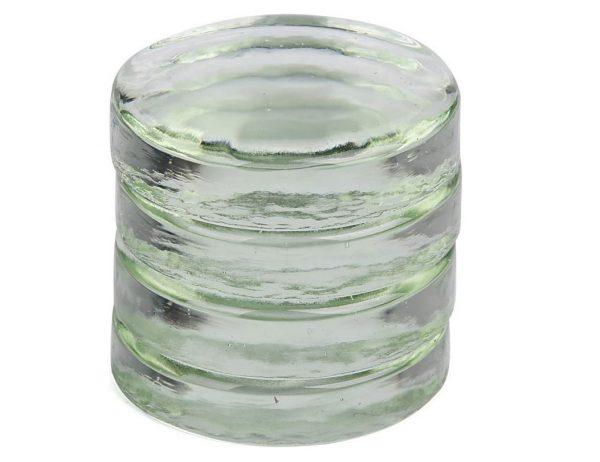 Poids en verre pour bocaux lactofermentation - Lot de 4