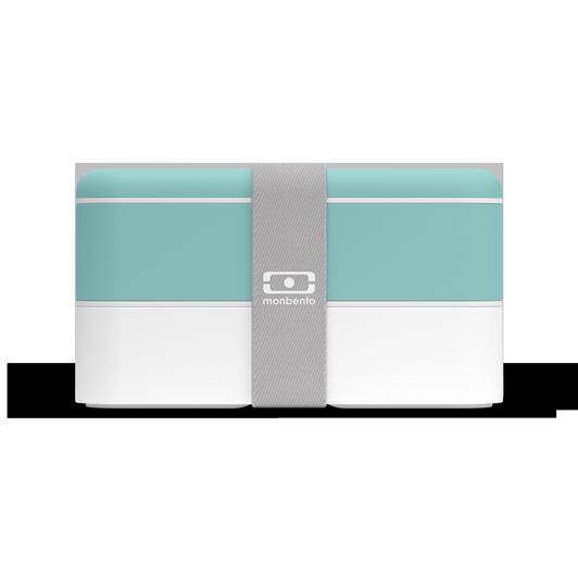 Lunchbox boite bento made in France - MB Original vert Lagoon