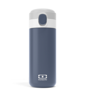 Gourde isotherme compact - MB Pop bleu Infinity